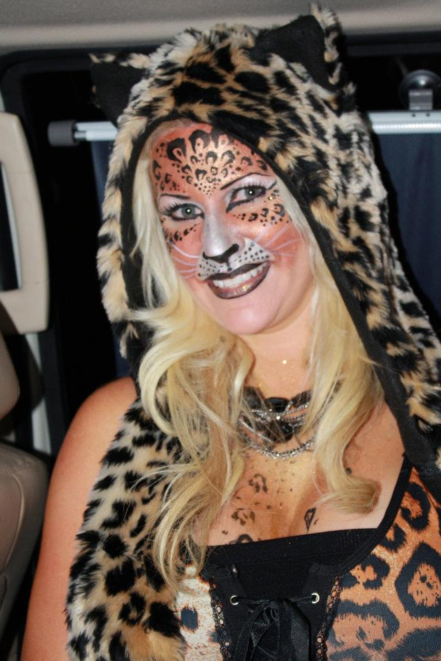 Animal Face Paint Adults