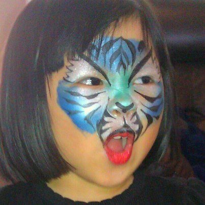 Face Painting Fun for Children at Birthday Parties