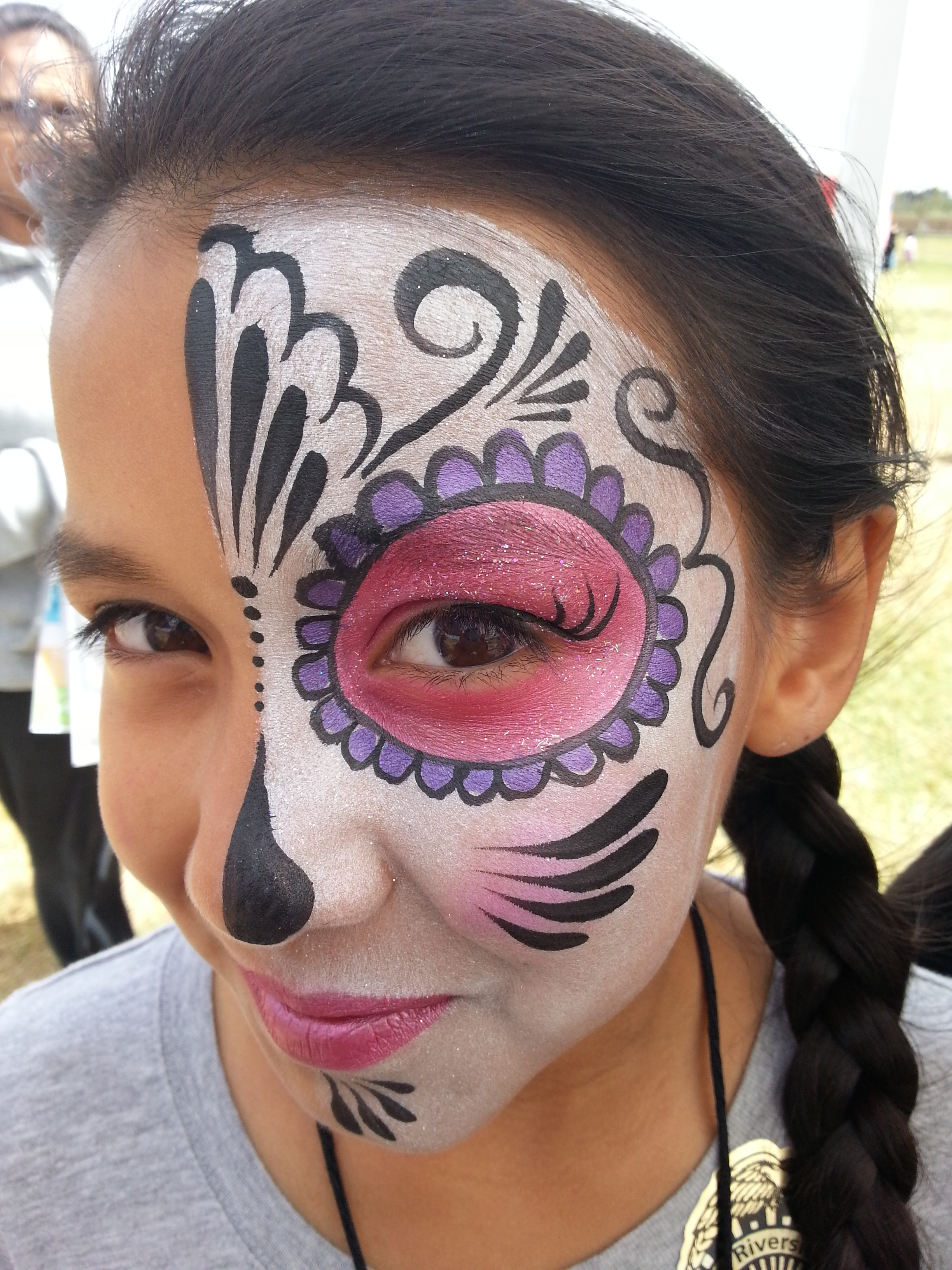 Day of the Dead/Sugar Skull Face Paint Makeup – Face ...