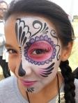 Dia De Los Muertos face paint mask